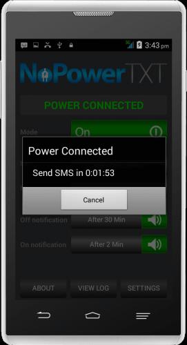 Connected Power Alert