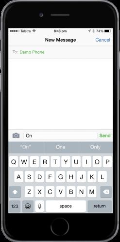 NoPowerTXT Remote Mode Message