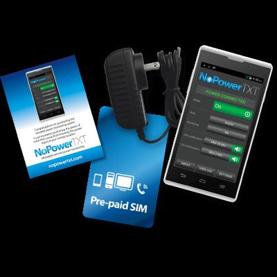 NoPowerTXT Power Monitoring System